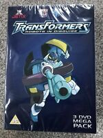 Transformers Robots in Disguise 3 DVD Mega Pack - Jetix (PG) New & Sealed
