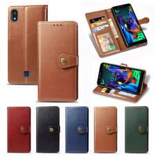 For LG K20 2019 K30 K40 K50 Stylo5 Magnetic Leather Flip Wallet Stand Case Cover