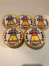 Huge 25pc Lot USA Bicentennial 1776 1976 Liberty Bell Patch 3