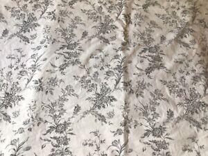 "IKEA Kingsize Duvet Cover White/Grey Toile 80"" x 89"""
