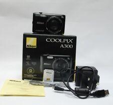 Nikon COOLPIX A300 20.1MP Digital Camera - Black  uk stock