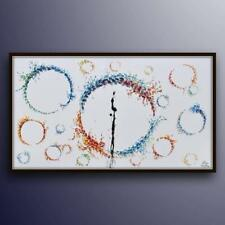 """AMAZING! abstract painting  67"""" Arrival Movie, original & handmade oil painting"""