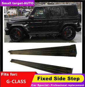 fits for Mercedes Benz G CLASS G500 2001-2018 Running board side step Nerf bar