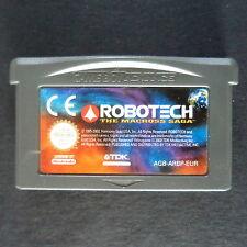 ROBOTECH: THE MACROSS SAGA Game Boy Advance UK・♔・SHOOTER Nintendo GBA cart only