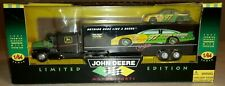 1/64 JOHN DEERE MOTORSPORTS TRANSPORTER TRAILER LIMITED EDITION CHAD LITTLE