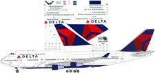 Delta Boeing Final livery 747-400 decals for Revell 1/144 kit