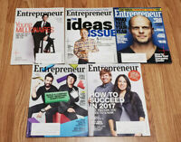 ENTREPRENEUR MAGAZINE - April Dec 2016 | January/February 2017 | Nov Sept 2014