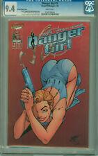DANGER GIRL #2 SMOKING GUN VARIANT CGC 9.4 1998 J SCOTT CAMPBELL IMAGE COMICS