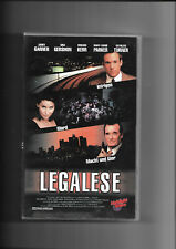 """VHS Rarität """"Legalese"""" (1998) James Garner & Gina Gershon (Keine DVD)"""