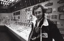 Journalist Laurent Broomhead Fessenheim Nuclear Power Plant old Press Photo 1982