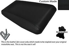 BLACK STITCH CUSTOM FITS LAVERDA 650 668 REAR LEATHER SEAT COVER ONLY