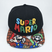 Super MARIO Gorra Sombrero de béisbol hip-hop Anime! alta Calidad! UK Entrega Rápida