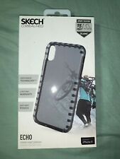 Skech Echo Series Case For Apple iPhone  X - Black / Onyx