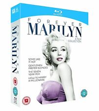 Forever Marilyn Four Film Collection [Blu-ray] *BRAND NEW*