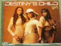 DESTINY'S CHILD GIRL RARE 5 TRACK IMPORT REMIX CD SINGLE FREE SHIPPING