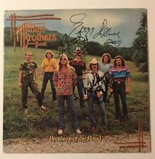 The Allman Brothers Signed Brothers Of The Road X3 Vinyl LP JSA LOA # Z08646