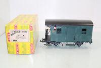 LGB Spur G 3019 Post-/Gepäckwagen grün Metallräder Schlußbeleuchtung OVP(JS3228)