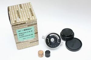"Very RARE ""For Nikonos II"" vintage underwater Nikon Nikonos 35mm lens."