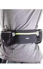 Romix Sports Running Waist Belt Trail Dbl Water Bags Waterproof Adjustable New