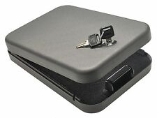 Gun Safe Storage Key Lock Box Pistol TSA Travel Jewelry Case Handgun Security XL