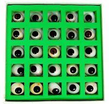 Eyes Artificial Prosthetic Set 25 Pcs Realistic Human Natural Eye Brand New