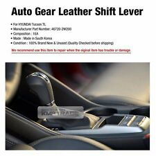 OEM Parts Auto Gear Leather Shift Knob Lever For HYUNDAI 2016-2017 Tucson TL