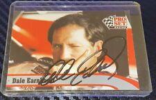 Dale Earnhardt autographed card PRO SET 1991 NASCAR GOODWRENCH #3 VINTAGE card