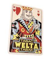 Tabac Welta Tabak Sticker Retro Vintage Style Welta Tabac Sticker Decal