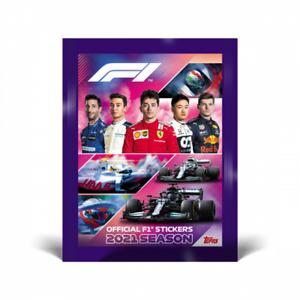 Topps Formula 1 Sticker 2021 Einzelsticker aussuchen