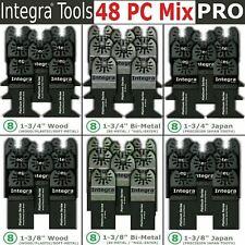48 Pcs Oscillating Multi Tool Saw Blade For Bosch Fein Multimaster Ridgid Makita