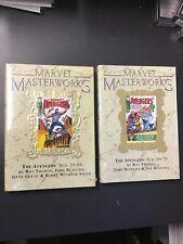 MARVEL MASTERWORKS #84 & 109 THE MIGHTY Avengers Variant HC Limited Ed. Sealed