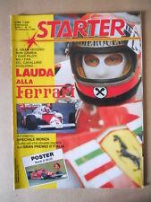 STARTER n°14 1984 Niki Lauda Gilles Villeneuve  [GS49]