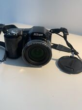 Nikon COOLPIX L100 10.0MP Digital Camera - Black TESTED GUC