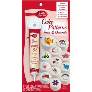 Betty Crocker Cake Patterns Trace & Decorate     BC23262-086233  New +Unopened
