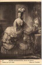 CPA -  portrait  de  MARIE  ANTOINETTE - A-F-Callet - (Musée de Versailles)l!!