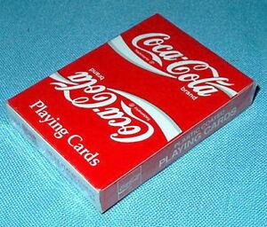F'Sld! COCA COLA deck U.S. Playing Cards COKE