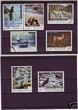 1702+  ROUMANIE   SERIE TIMBRES  ANIMAUX