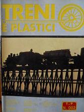 Treni e Plastici n°2 1979 Costruiamo Loco E 626 - Realizziamo un plastico