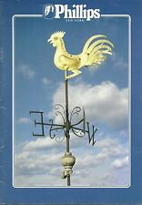 PHILLIPS THE GILDED WEATHERCOCK 18c American Cooper Weathervane Auction Catalog