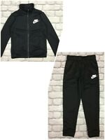 NIKE BOYS FUTURA FULL ZIP BLACK TRACK TOP / PANTS CHILDRENS *SOLD SEPARATELY* A