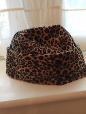 Leopard Print Vintage Style Hat