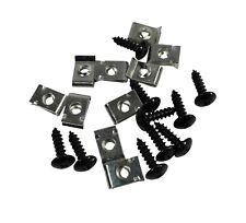 Verkleidungsschrauben Set 10 Stück ink. Klammern 5x20mm für Motorroller , Roller