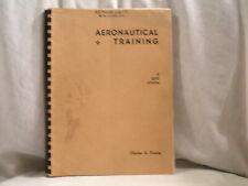 JULY 1940 AERONAUTICALL TRAINING BOOK