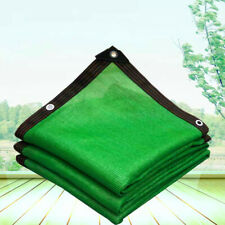 Customize About 85% UV Green Shade Cloth Taped Edge With Grommets