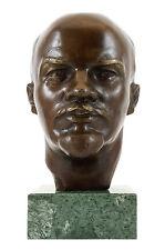 Bronzestatue - Wladimir Iljitsch Lenin - Gladenbeck - signiert