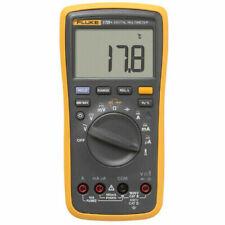 Fluke 17b Digital Multimeter Handheld Volt Tester Meter Test Leads Tl75 Testing