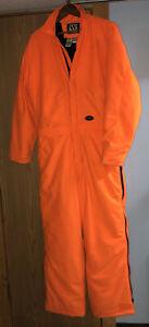 Walls Hunting Coveralls Suit Fluorescent Safety Orange Medium Regular