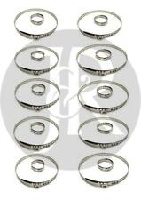 TOYOTA PASEO, PICNIC 10X DRIVESHAFT CV JOINT BOOT KIT STAINLESS STEEL CLAMP CLIP