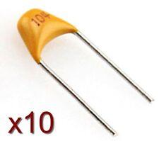 Lot 10x condensateur céramique 50V type 104 0,1uF -Monolithic Ceramic Capacitor