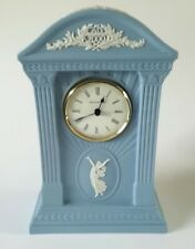 Wedgwood Blue Jasperware Dancing Hours Millennium Clock  Working